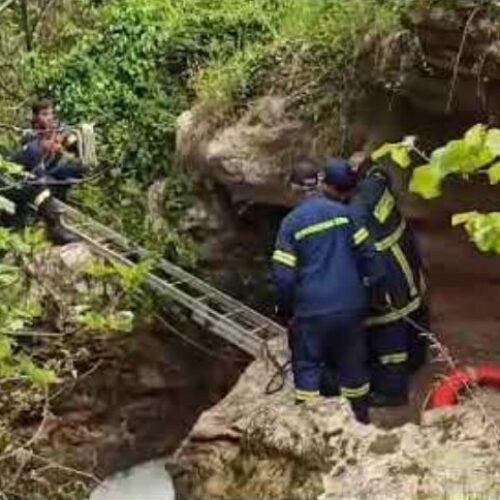 Βέροια: Ανασύρθηκε γυναίκα από τα νερά του Τριπόταμου στη Μπαρμούτα