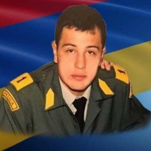 Ο Αρμένιος Λοχαγός, απόφοιτος της Σχολής Ευελπίδων, που έπεσε μαχόμενος στο Ναγκόρνο Καραμπάχ