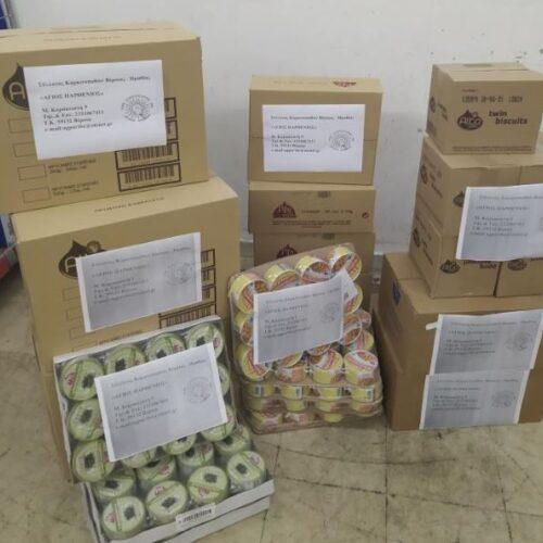 Βέροια: Άμεση η ανταπόκριση του Συλλόγου Καρκινοπαθών για τους πληγέντες της Καρδίτσας