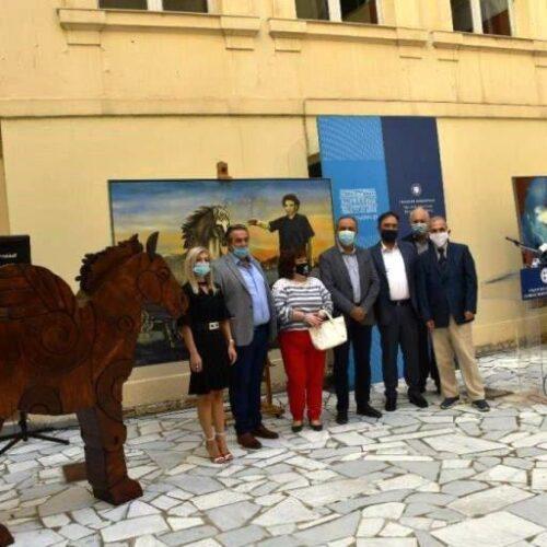 Η Μακεδονία τιμά στη Βέροια τον Μίκη Θεοδωράκη με το έργο του Μάκη Βαρλάμη