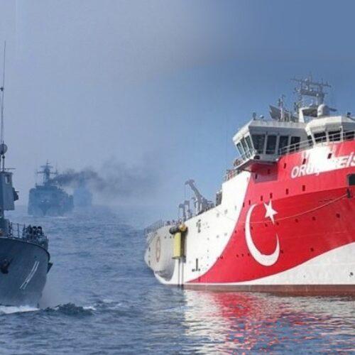 Με κλειστό πομπό εντός της παράνομης Navtex το Oruc Reis - Σε τεντωμένο σχοινί οι σχέσεις Ελλάδας - Τουρκίας