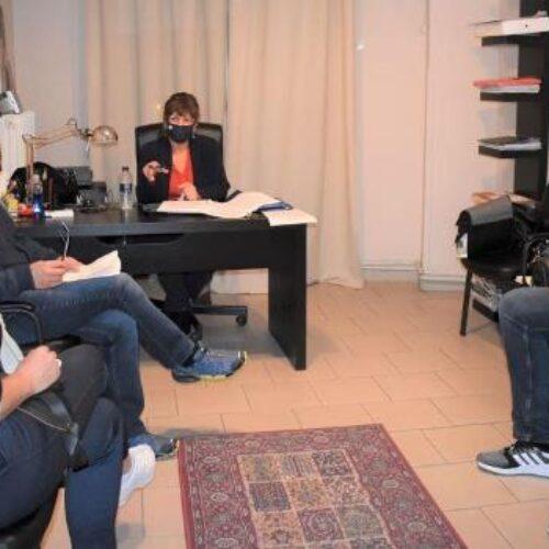 Συνάντηση της βουλευτή Φρόσως Καρασαρλίδου με επαγγελματοβιοτέχνες για τον Πτωχευτικό Κώδικα