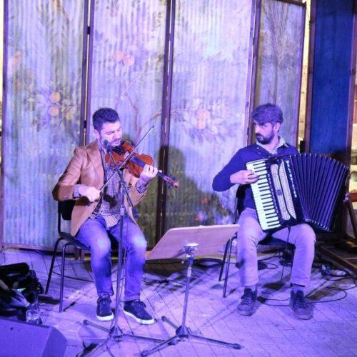 ΚΕΠΑ Βέροιας - Κινητό Μουσικό Περίπτερο: Στους δρόμους των Βαλκανίων μ' ένα βιολί κι ένα ακορντεόν