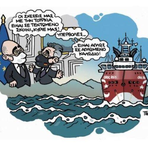 """""""Ελληνοτουρκικά: παγίδα και (δι)έξοδος"""" γράφει ο Δημήτρης Μηλάκας"""