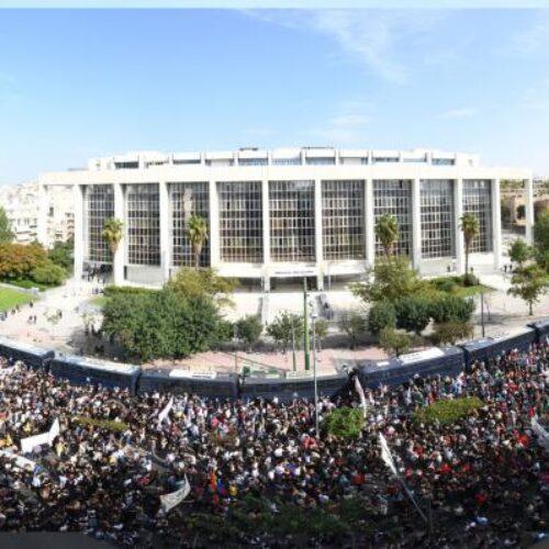 Το ΚΚΕ για τη μεγαλειώδη συγκέντρωση στο Εφετείο  και τη στάση της αστυνομίας