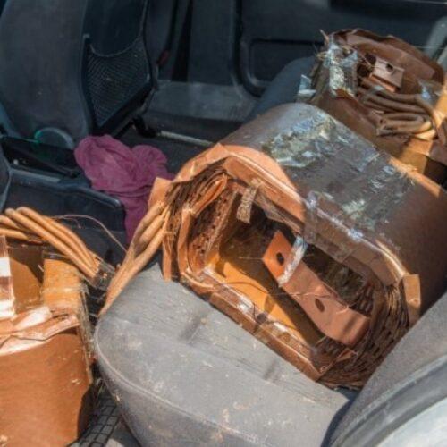 Εξιχνιάσθηκαν κλοπές χαλκού από μετασχηματιστές του ΔΕΔΔΗΕ σε Πέλλα και Θεσσαλονίκη