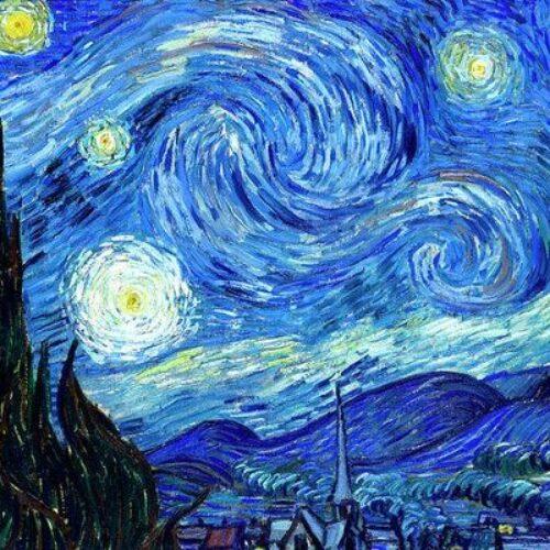 Βίνσεντ βαν Γκογκ. Πεζοπορώντας ανάμεσα σε κίτρινα σταροχώραφα και έναστρους ουρανούς