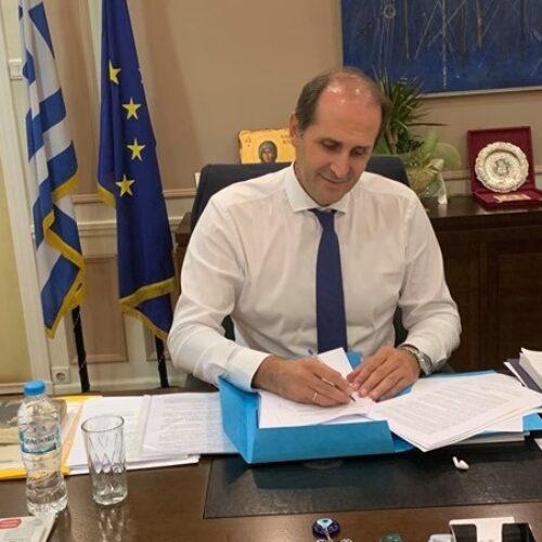 """Απ. Βεσυρόπουλος: Μέτρα οικονομικής στήριξης για περιοχές που εντάσσονται στα επίπεδα """"3 και 4"""" στον Χάρτη υγειονομικής ασφάλειας"""