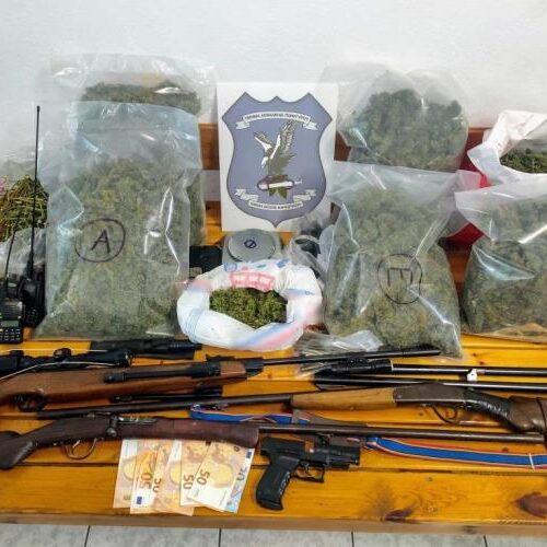 Χαλκιδική: Συνελήφθη  άνδρας για ναρκωτικά και παράνομη οπλοκατοχή