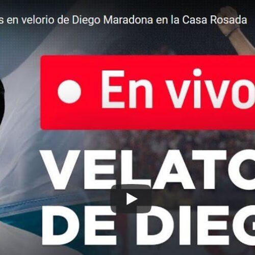 Ζωντανά από την Αργεντινή το τελευταίο «αντίο» στον Ντιέγκο Μαραντόνα