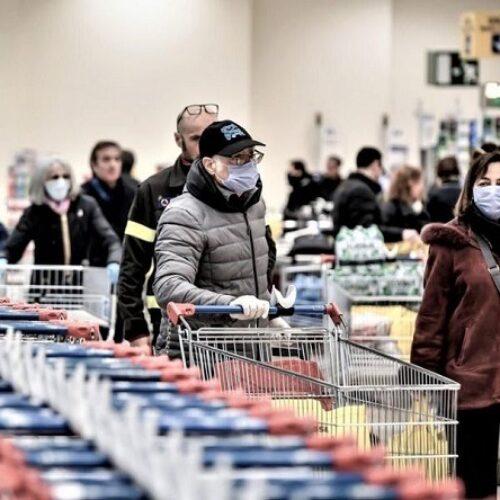 """Κορωνοϊός - Σούπερ μάρκετ: Σωρεία κρουσμάτων κρατούνται """"κρυφά"""", κατήγγειλαν εργαζόμενοι - Λίστα ανά αλυσίδα και περιοχή (video)"""