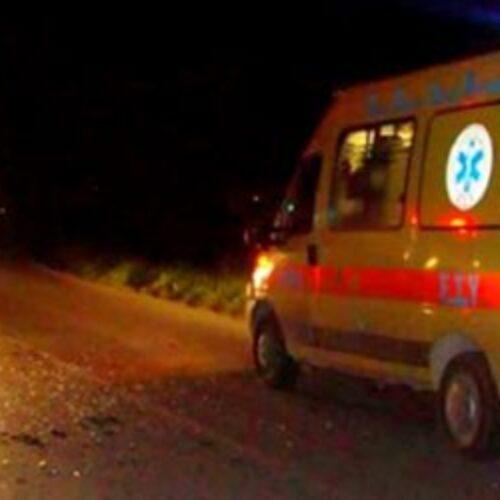 Τροχαίο δυστύχημα με θανάσιμο τραυματισμό 23χρονου οδηγού