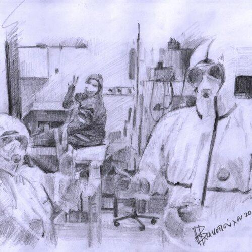 Ενημερωτική τηλεδιάσκεψη του βεροιώτη γιατρού Αντώνη Λιόλιου με επιστήμονες που καταθέτουν την εμπειρία τους από τον covid