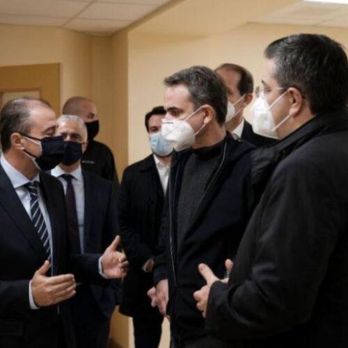 """Κυριάκος Μητσοτάκης από Βέροια: """"Η νέα πτέρυγα του Νοσοκομείου θα παραδοθεί τους πρώτους μήνες του 2021"""""""