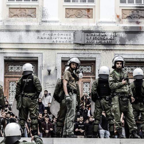 """""""Πανεπιστημιακή αστυνομία: Εδώ καράβια χάνονται, βαρκούλες αρμενίζουν"""" γράφει ο Γιάννης Μυλόπουλος"""