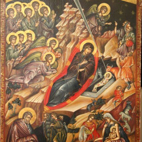 """""""Χριστός γεννάται - Οι τρεις μάγοι"""" Δια χειρός Συμεών"""