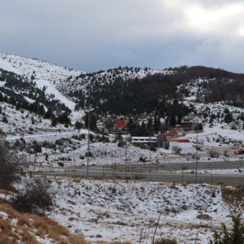 Πρώτο χιόνι στο έρημο Σέλι
