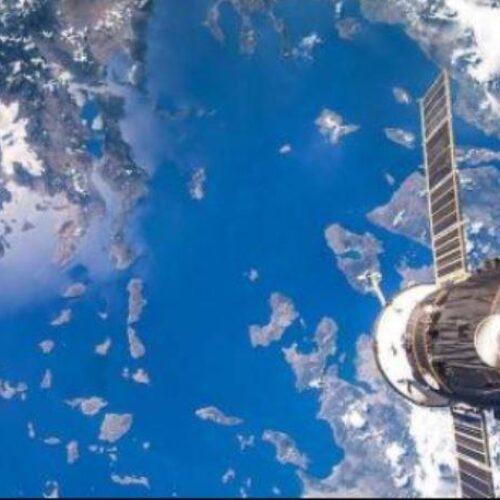 Περνάει επάνω από την Ελλάδα αστροναύτης του Διαστημικού Σταθμού στις 18.38 - Θα πει: «Yia sas Ellada»