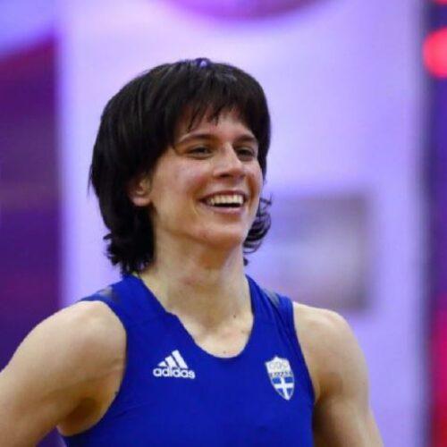 Η Μαρία Πρεβολαράκη χρυσό μετάλλιο στο Παγκόσμιο Κύπελλο πάλης του Βελιγραδίου