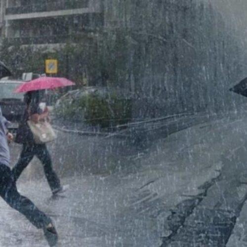 ΕΜΥ: Έρχονται βροχές και καταιγίδες - Οδηγίες από την Πολιτική Προστασία
