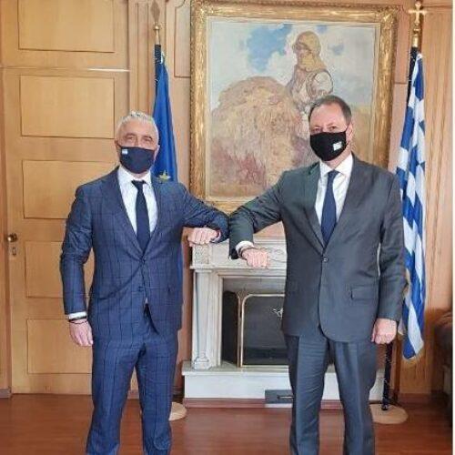 Ζητήματα των αγροτών έθεσε ο Λάζαρος Τσαβδαρίδης στον Υπουργό Αγροτικής Ανάπτυξης