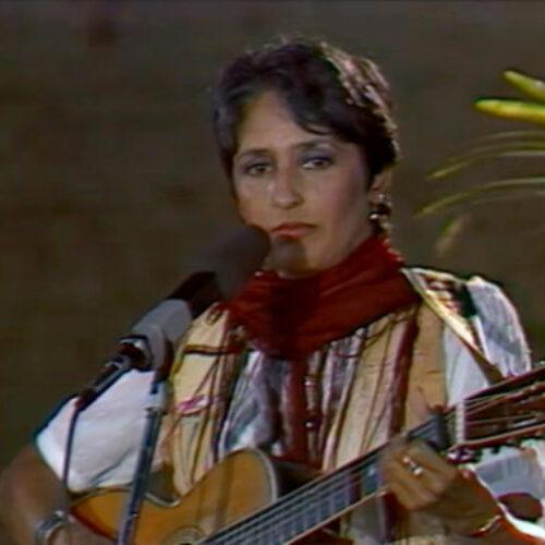 Τζόαν Μπαέζ, 9 Ιανουαρίου 1941 - Συναυλία της στο Ηράκλειο στις 3 Ιουλίου 1983