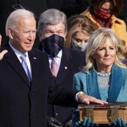 Ορκίστηκε ο Τζο Μπάιντεν 46ος πρόεδρος των ΗΠΑ:  Θα είμαι πρόεδρος όλων των Αμερικανών