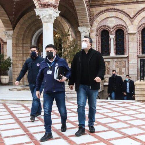 Θεσσαλονίκη: Σε ιερέα εντοπίστηκε το πρώτο κρούσμα της νοτιοαφρικανικής μετάλλαξης