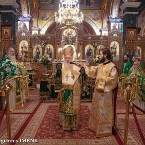 Μητρόπολη:Τον πολιούχο της Όσιο Αντώνιο τον Νέο πανηγύρισε η Βέροια κεκλεισμένων των θυρών