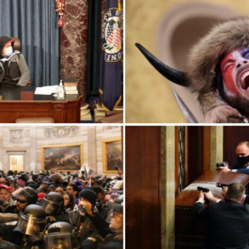 ΗΠΑ: Η εισβολή στο Καπιτώλιο μέσα από 50 φωτογραφίες που θα μείνουν στην ιστορία