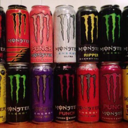 Monster: Ανακαλούνται κωδικοί από το ενεργειακό ποτό
