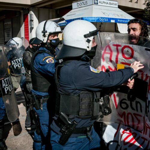 Φοιτητικές κινητοποιήσεις: Καταστολή με ΜΑΤ και χημικά σε Αθήνα και Θεσσαλονίκη