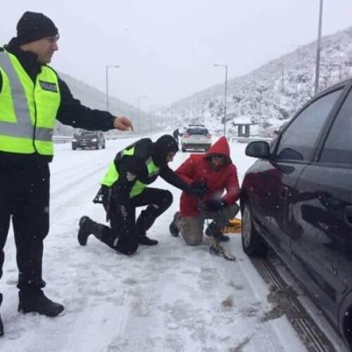 Κλειστοί δρόμοι σε Κ. Μακεδονία - Τα σημεία όπου είναι απαραίτητες οι αλυσίδες