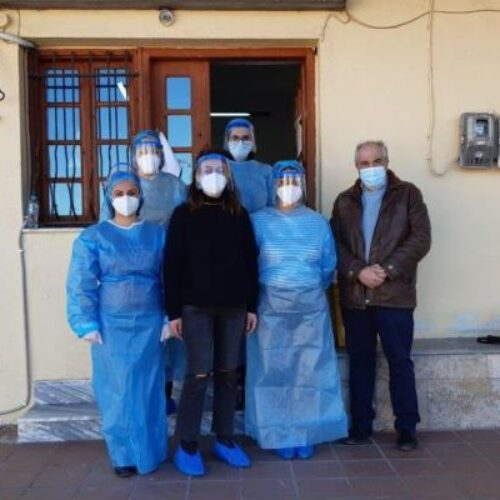 Δήμος Βέροιας: Ολοκληρώθηκε η διαδικασία των rapid tests στα Ριζώματα - Βρέθηκε ένα θετικό δείγμα