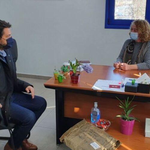 Επίσκεψη στον ΕΛΓΑ Ημαθίας  πραγματοποίησε ο Βουλευτής Τάσος Μπαρτζώκας
