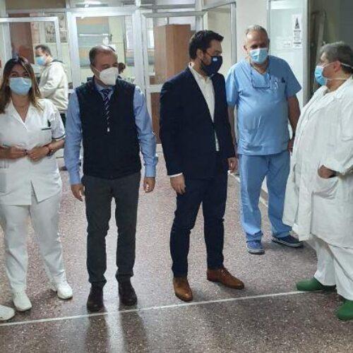 Στα Νοσοκομεία Βέροιας και  Νάουσας ο Τάσος Μπαρτζώκας