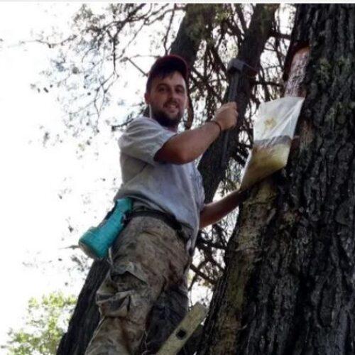 Χαλκιδική: Συλλέγει τα «δάκρυα» από 4.500 πεύκα και δίνει… χαρά στο δάσος