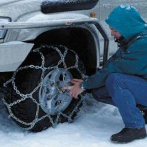 Δευτέρα, 15-2-2021 Ώρα 20.00. Οδικά σημεία της Κ. Μακεδονίας που χρειάζονται αλυσίδες - Απαγόρευση κυκλοφορίας φορτηγών
