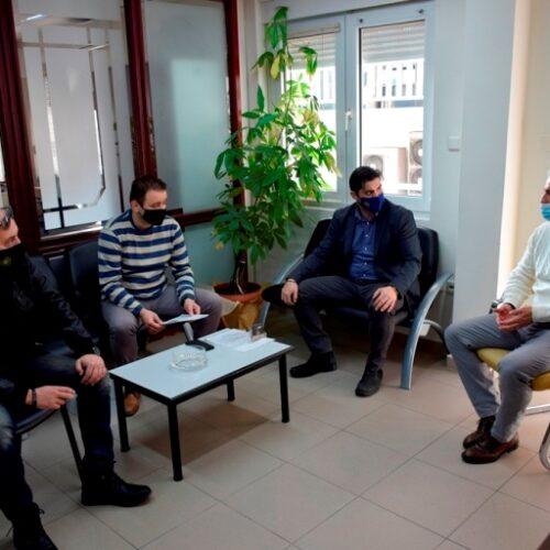 Συνάντηση Λάζαρου Τσαβδαρίδη με εκπροσώπους των Ενώσεων της Αστυνομίας στην Ημαθία