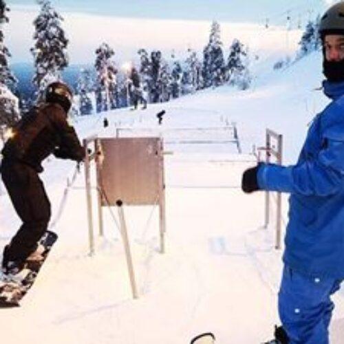 """Βέροια: 7ος ο Πετράκης του """"Εν Σώματι Υγιεί"""" στο Παγκόσμιο Κύπελλο Para Snowboard"""
