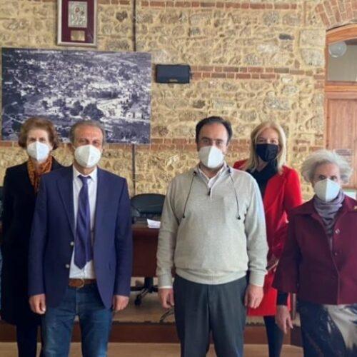 Ευχαριστήριο του Λυκείου Ελληνίδων Βέροιας για την παραχώρηση χρήσης του Αρχοντικού Σαράφογλου