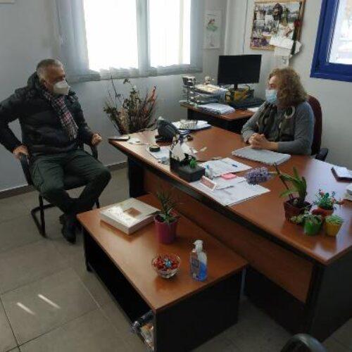 Βέροια: Τον ΕΛΓΑ επισκέφθηκε ο Λάζαρος Τσαβδαρίδης