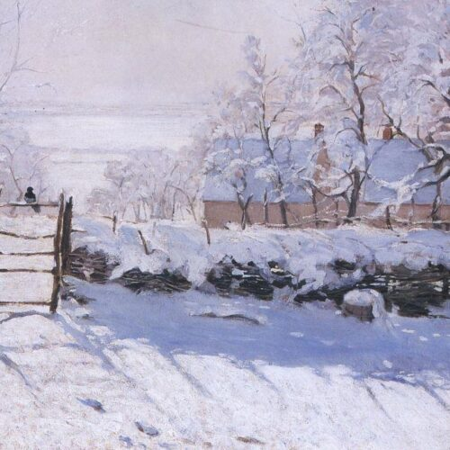 Τα παγωμένα «ποιήματα» των ιμπρεσιονιστών: 8 διάσημοι πίνακες της ομορφιάς του χιονισμένου τοπίου