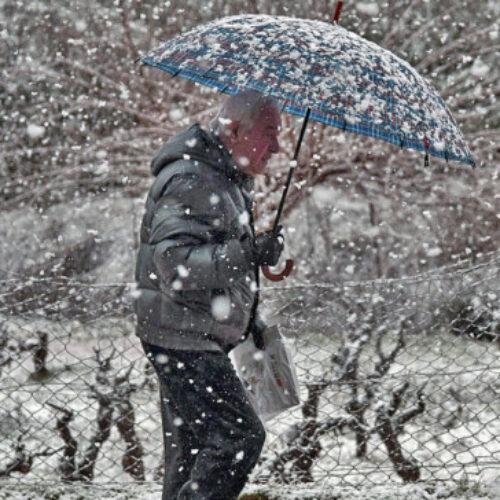 Έκτακτο Δελτίο της ΕΜΥ: Αναμένονται πυκνές χιονοπτώσεις, μεγάλη πτώση της θερμοκρασίας, θυελλώδεις βοριάδες