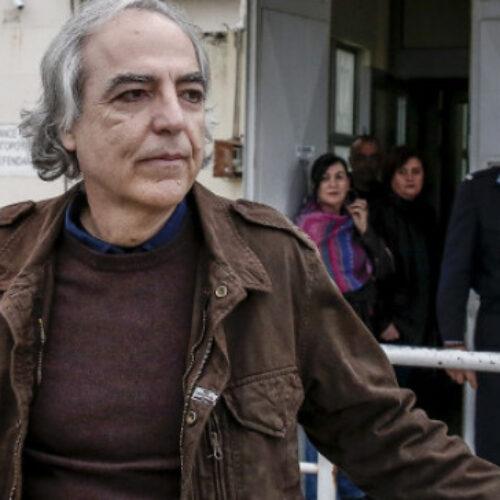 ΣΦΕΑ: Επιλεκτική η μεταχείριση του καταδικασμένου για συμμετοχή στη 17 Νοέμβρη Δημήτρη Κουφοντίνα