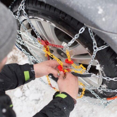 Η κατάσταση στο οδικό δίκτυο Κ. Μακεδονίας εξαιτίας της χιονόπτωσης, παγετού - Ώρα 16:00 / 13/2