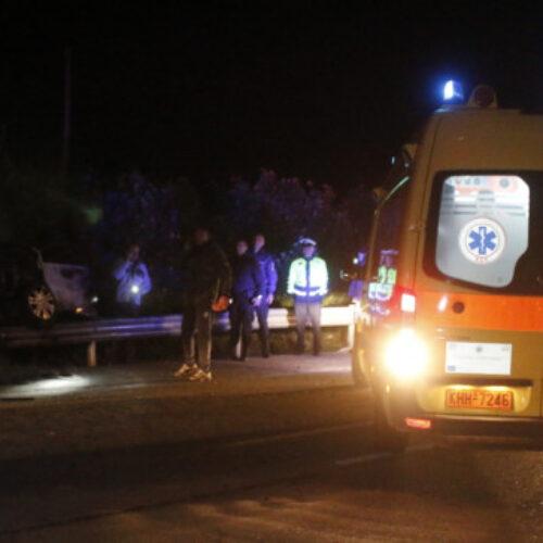 Ημαθία: ΙΧ έπεσε σε αρδευτικό κανάλι - Νεκρός ο 69χρονος οδηγός