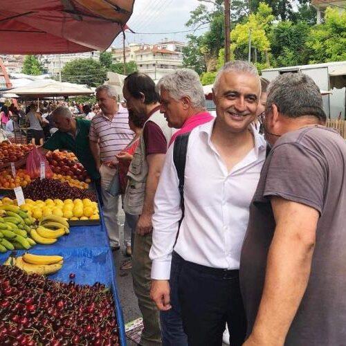 Λάζαρος Τσαβδαρίδης: Αναφορά στη Βουλή αιτημάτων και προτάσεων των παραγωγών Λαϊκών Αγορών