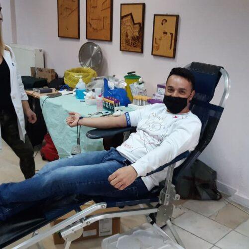 Με επιτυχία πραγματοποιήθηκε η Εθελοντική Αιμοδοσία που οργάνωσε το ΚΕΠ Υγείας Δήμου Βέροιας