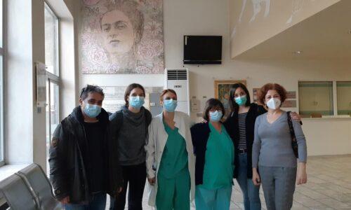 """""""Πάνδημες συνARTήσεις"""": Παράταση της έκθεσης στο Νοσοκομείο ΑΧΕΠΑ - Έναρξη νέας στο Παπανικολάου"""